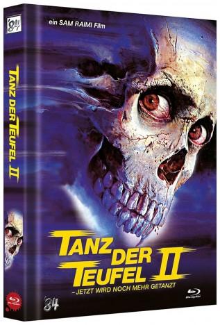 Tanz der Teufel 2 - 4K Ultra HD Blu-ray + Blu-ray / Limited Mediabook / Cover H (4K Ultra HD)
