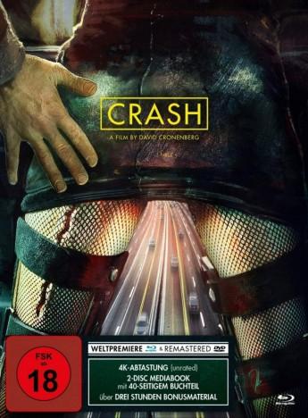 Crash - Blu-ray + DVD / Mediabook Modern (Blu-ray)