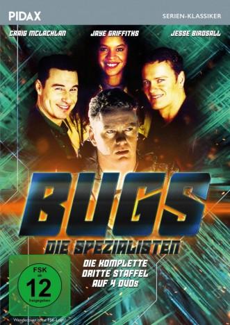 Bugs - Die Spezialisten - Pidax Serien-Klassiker / Staffel 3 (DVD)