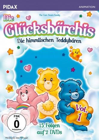 Die Glücksbärchis - Die himmlischen Teddybären - Pidax Animation / Vol. 1 (DVD)