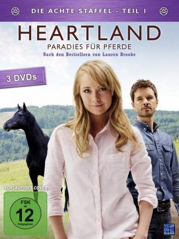 Heartland - Paradies für Pferde - Staffel 08 / Teil 1 (DVD)