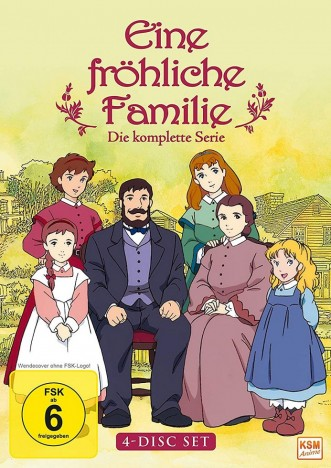 Eine fröhliche Familie - Die komplette Serie (DVD)
