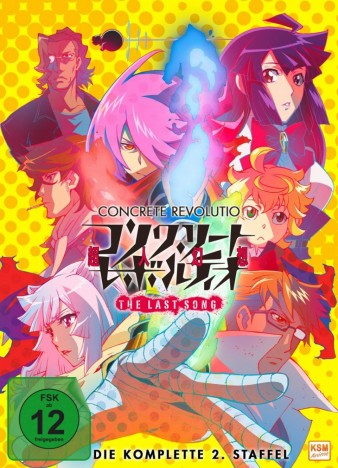 Concrete Revolutio - The Last Song - Staffel 2 / Episode 1-11 (DVD)