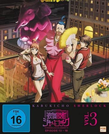 Kabukicho Sherlock - Vol. 3 / Episoden 13-18 (DVD)