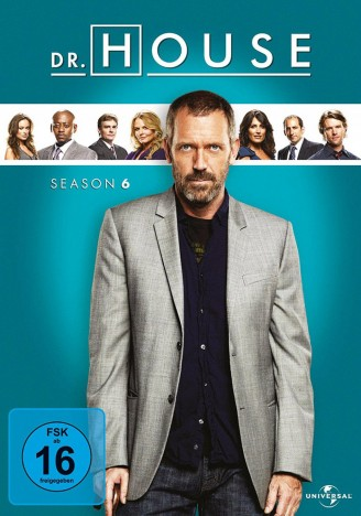 Dr. House - Season 6 / 2. Auflage (DVD)
