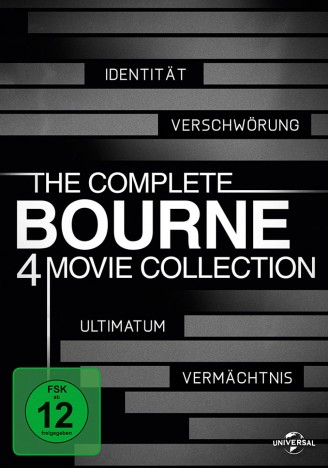 The Complete Bourne 4 Movie Collection (DVD)