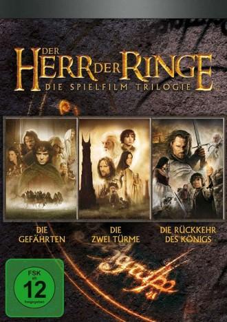 Der Herr der Ringe - Die Spielfilm-Trilogie (DVD)