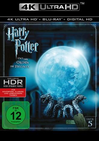 Harry Potter und der Orden des Phönix - 4K Ultra HD Blu-ray + Blu-ray (Ultra HD Blu-ray)