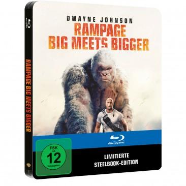 Rampage - Big meets Bigger - Limited Steelbook Edition (Blu-ray)