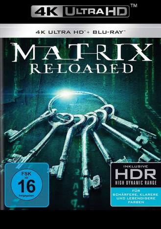 Matrix - Reloaded - 4K Ultra HD Blu-ray + Blu-ray (4K Ultra HD)