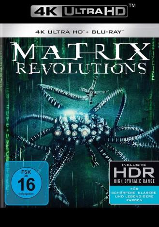 Matrix - Revolutions - 4K Ultra HD Blu-ray + Blu-ray (4K Ultra HD)