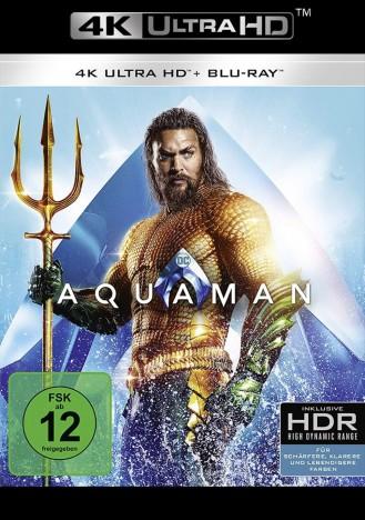 Aquaman - 4K Ultra HD Blu-ray + Blu-ray (4K Ultra HD)