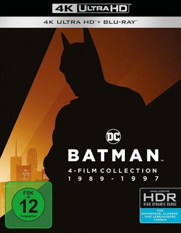 Batman 1-4 - 4K Collection / 4K Ultra HD Blu-ray + Blu-ray (4K Ultra HD)