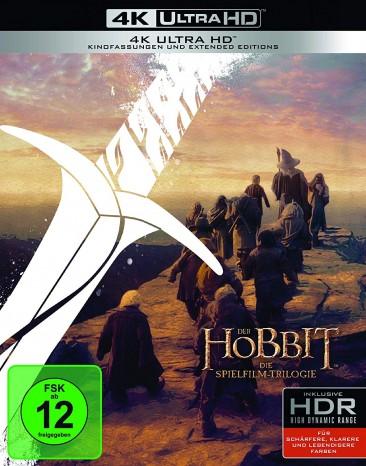 Der Hobbit - Die Spielfilm Trilogie / Extended Edition / 4K Ultra HD Blu-ray (4K Ultra HD)