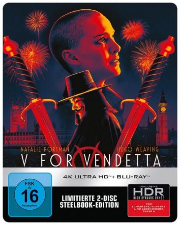V wie Vendetta - 4K Ultra HD Blu-ray + Blu-ray / Limited Steelbook (4K Ultra HD)