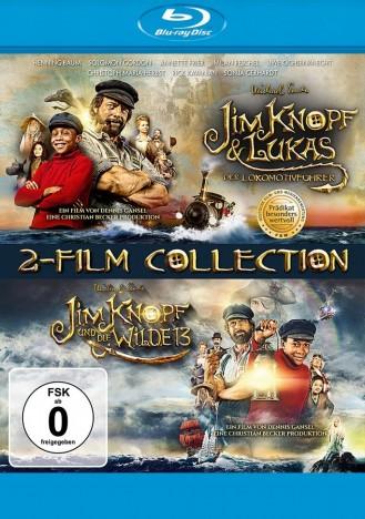 Jim Knopf und Lukas der Lokomotivführer & Jim Knopf und die Wilde 13 (Blu-ray)