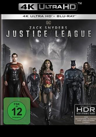 Zack Snyder's Justice League - 4K Ultra HD Blu-ray + Blu-ray (4K Ultra HD)