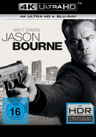 Jason Bourne - 4K Ultra HD Blu-ray + Blu-ray (4K Ultra HD)