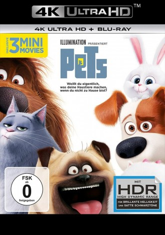 Pets - 4K Ultra HD Blu-ray + Blu-ray (4K Ultra HD)