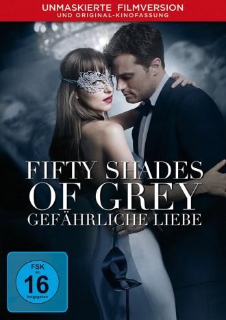 Fifty Shades of Grey - Gefährliche Liebe - Unmaskierte Filmversion + Kinofassung (DVD)