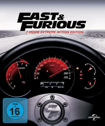 Fast & Furious - 1 - 7 Movie Extreme Action Edition (Blu-ray)