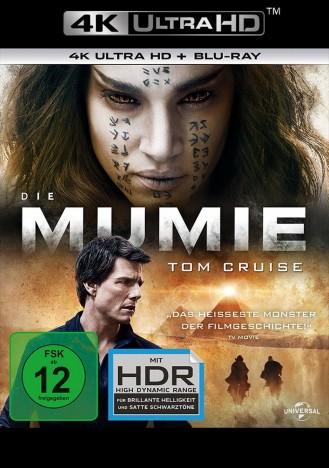 Die Mumie - 2017 / 4K Ultra HD Blu-ray + Blu-ray (4K Ultra HD)