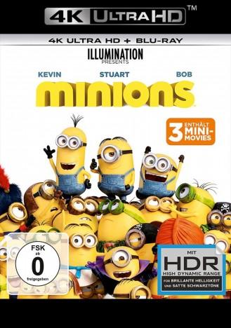 Minions - 4K Ultra HD Blu-ray + Blu-ray (4K Ultra HD)
