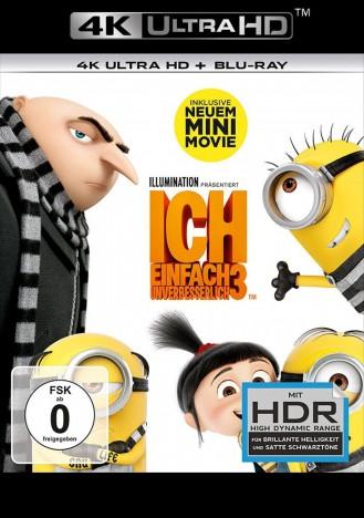Ich - Einfach unverbesserlich 3 - 4K Ultra HD Blu-ray + Blu-ray (4K Ultra HD)