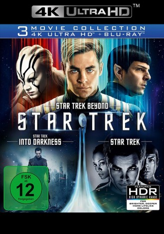 Star Trek 3 Movie Collection 4k Ultra Hd Blu Ray Blu Ray 4k