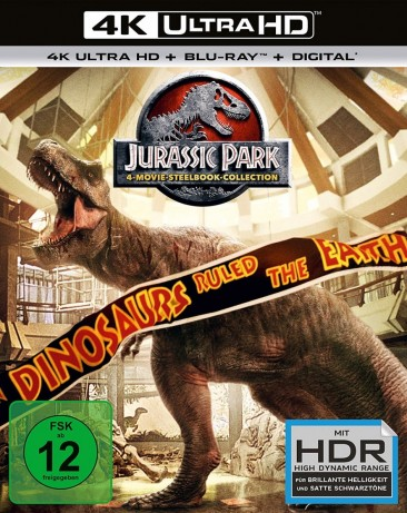 Jurassic Park - 25th Anniversary Collection / 4K Ultra HD Blu-ray + Blu-ray / Steelbook (4K Ultra HD)