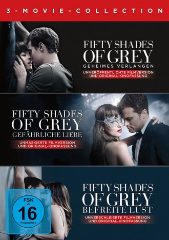 Fifty Shades of Grey - 3-Movie Collection (DVD)