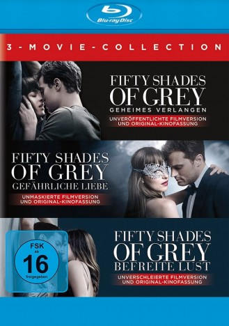 fifty shades of grey 3 movie collection blu ray. Black Bedroom Furniture Sets. Home Design Ideas
