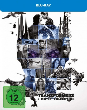 Transformers - 1-5 Collection / Steelbook (Blu-ray)