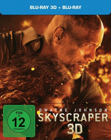 Skyscraper - Blu-ray 3D + 2D / Steelbook (Blu-ray)