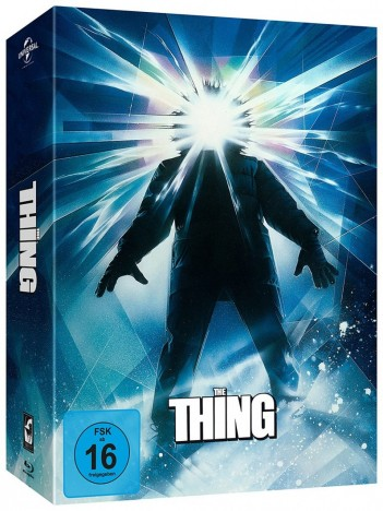 The Thing - Deluxe Edition / Cover 2 Klassisch (Blu-ray)