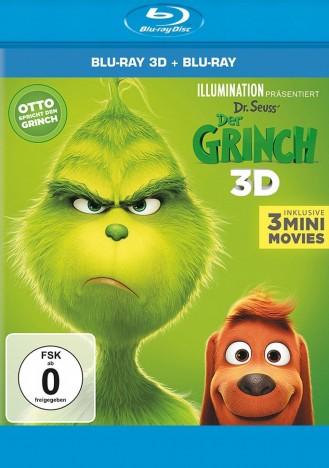 Der Grinch - Blu-ray 3D + 2D (Blu-ray)