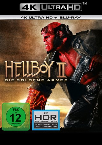 Hellboy II - Die goldene Armee - 4K Ultra HD Blu-ray + Blu-ray (4K Ultra HD)