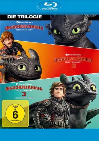 Drachenzähmen leicht gemacht 1-3 (Blu-ray)