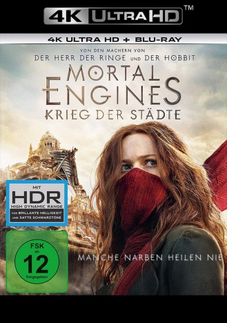 Mortal Engines - Krieg der Städte - 4K Ultra HD Blu-ray + Blu-ray / 2. Auflage (4K Ultra HD)