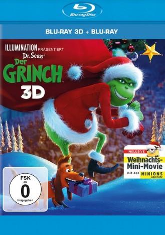 Der Grinch - Blu-ray 3D + 2D / Weihnachts-Edition (Blu-ray)