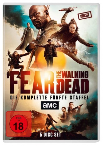 Fear the Walking Dead - Staffel 05 (DVD)