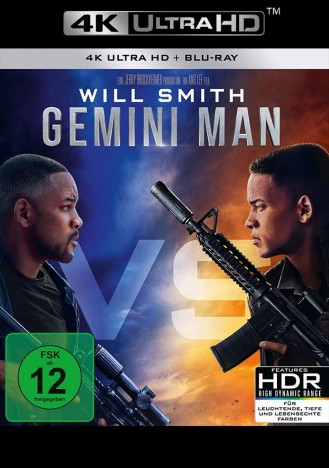 Gemini Man - 4K Ultra HD Blu-ray + Blu-ray (4K Ultra HD)