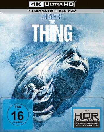 The Thing - 4K Ultra HD Blu-ray + Blu-ray / Limited Steelbook (4K Ultra HD)
