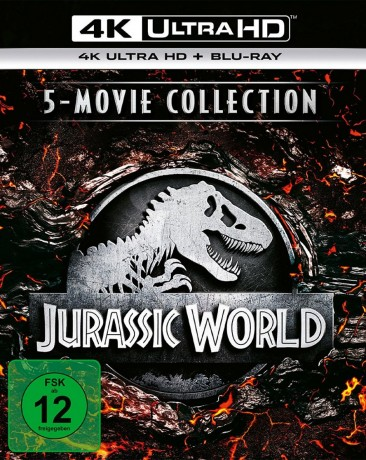 Jurassic World - 4K Ultra HD Blu-ray / 5 Movie Collection (4K Ultra HD)