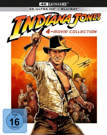 Indiana Jones - 4-Movie Collection / 4K Ultra HD Blu-ray / Limited Digipack (4K Ultra HD)