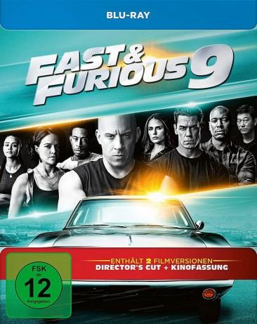 Fast & Furious 9 - Director's Cut & Kinofassung / Limited Steelbook (Blu-ray)