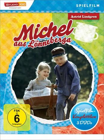 Michel aus Lönneberga - Spielfilm-Box / 2. Auflage (DVD)