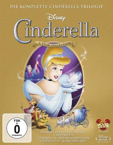 Cinderella 1-3 - Die komplette Trilogie (Blu-ray)