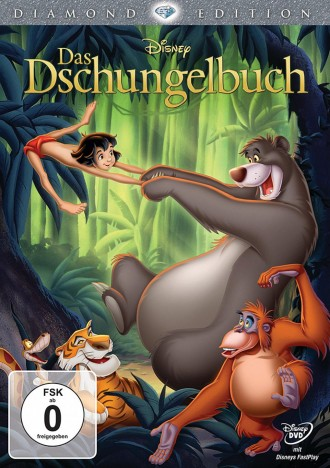 Das Dschungelbuch - Diamond Edition (DVD)