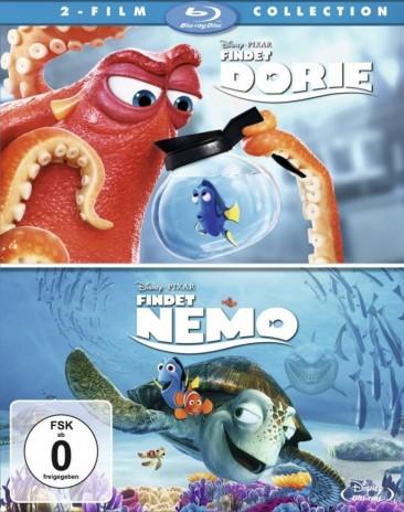 Findet Nemo & Findet Dorie - 2-Film Collection (Blu-ray)